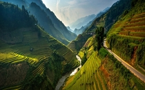 Mu Cang Chai District Vietnam photo by Sarawut IntaRob