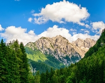 Much overlooked Kamnik Alps Northern Slovenia