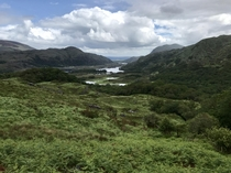 Muckross Lake from afar - Ring of Kerry Ireland OC x