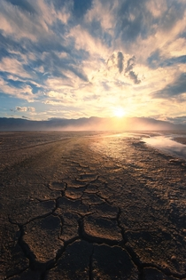 Mud cracks at the Salt Flats in Death Valley National Park California  insta JeremyVeselyPhotography