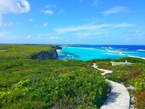 Mudjin Harbour Turks and Caicos Islands