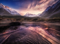 Mueller Lake Mount Cook National Park NZ Photo by Rod Trenchard