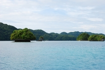 Muffin top islands Palau