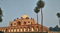Mughal emperor Humayuns tomb in New Delhi