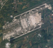 Munich Airport in Germany one of my favorite airports to see from air