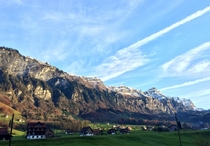 Muotathal Switzerland - View of my Bedroom