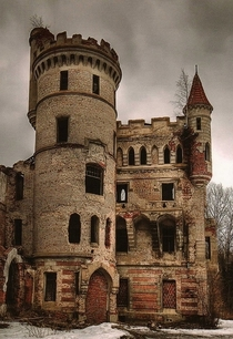Muromtsev Manor castle estate of Count Hrapovitskyin Russia