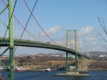 Murray MacKay Bridge in Halifax Nova Scotia