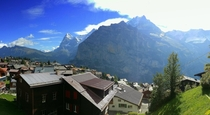 Murren Switzerland and the Swiss Alps