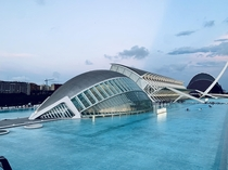Museu de les Cincies Prncipe Felipe designed by Santiago Calatrava The building is part of the City of Arts and Sciences in Valencia