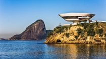 Museum of Contemporary Art Niteri Brazil Designer Oscar Niemeyer