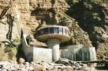 Mushroom House originally called the Pavillion built by architect Dal Nagel in  You could access it from the top of the cliffs by a ft nearly vertical tramway