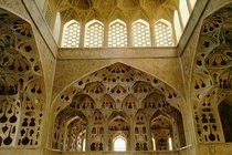 Music Room of the Aali Qapu Palace Iran Isfahan -