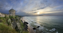 Mussenden Temple near Castlerock Northern Ireland