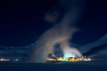 Mutnovsko Geothermal energy plant Kamchatka Russia Gallery from OS in comments
