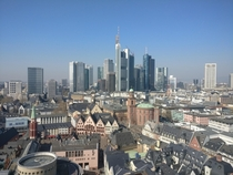 My adoptive home city of Frankfurt Germany