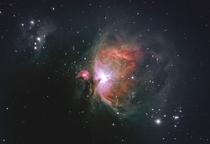 My amateur attempt at the Orion nebula