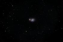 My attempt capturing a pair of galaxies combining