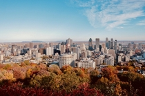 My beautiful Montreal last October