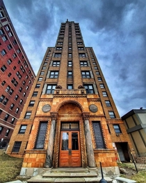 My brothers apartment building in Detroit is stunning Photo by John Versace