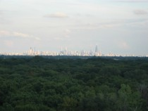 My Chicago Skyline pic Taken from top of parking ramp in Rosemont  x