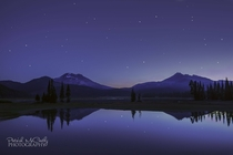 My dad took this at Sparks Lake OR at am