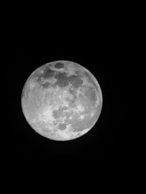 My dad took this of the super moon Its nothing special but it keeps him busy during quarantine Hes quite new to photography with telescope so dont be harsh