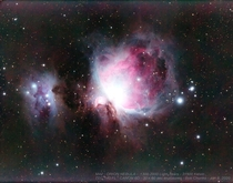 My dads colleagues photo of the Orion Nebula