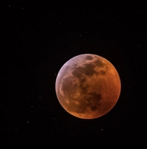 My dads picture of the blood moon
