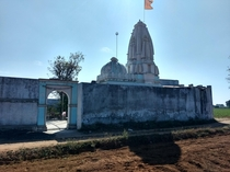 My familys ancestral temple that is over  years old in a small village in Gujarat India