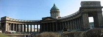 My favorite building in St Petersburg Kazan Cathedral