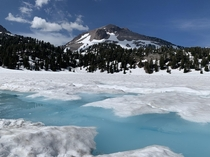 My favorite flavor of Gatorade Lake Helen Lassen National Park CA US