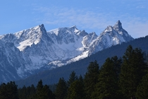 My favorite mountain in the entire world Trapper Peak MT
