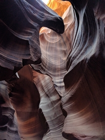 My favorite photo from my visit to Antelope Canyon
