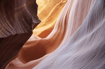 My favorite picture from my visit to Antelope Canyon in Page Arizona