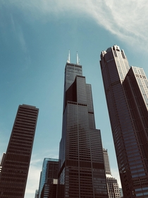 My favorite picture I captured of the Sears tower