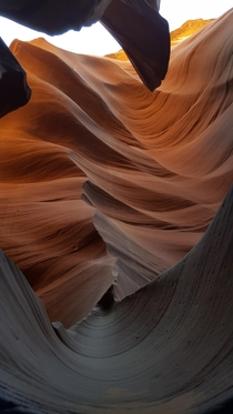 My favorite shot on the Lower Antelope Canyon tour Page AZ