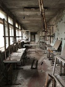 My favourite photo I brought back from School- Pripyat