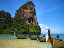my FAVOURITEST place in the world West Railay Beach Krabi Thailand  OC