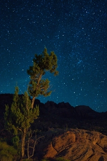 My first attempt at astrophotography Southern Utah has a mind blowing amount of visible stars