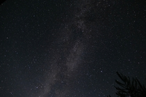 My first attempt at capturing the Milky Way