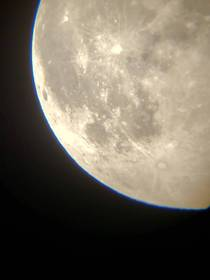 My first attempt at capturing the moon