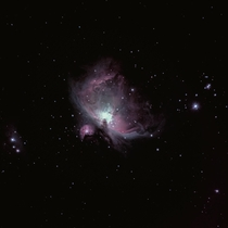My first attempt at capturing the Orion nebula