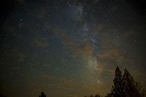 My first attempt at photographing the Milky Way