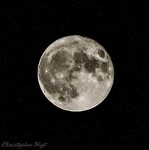 My First Attempt at Photographing the Supermoon