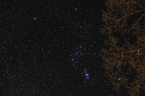 My first attempt at shooting stars Southern Maryland January