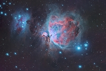 My first attempt at the Great Orion Nebula and the Running Man
