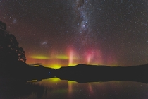 My first aurora Tasmania