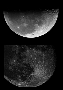 My first ever Moon photo down and my best photo of the Moon up  years of hard work through countless attempts and lonly nights Never give up on Astrophotography you will succeed just persevere