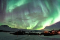 My first experience with Aurora Borealis in Troms Norway